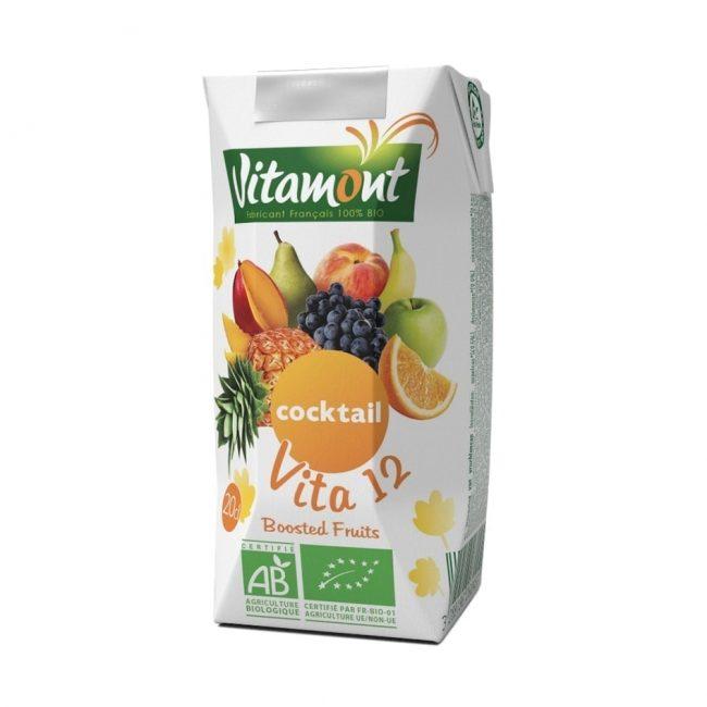 Vitamont Organic 12 Fruits Cocktail, 200ml