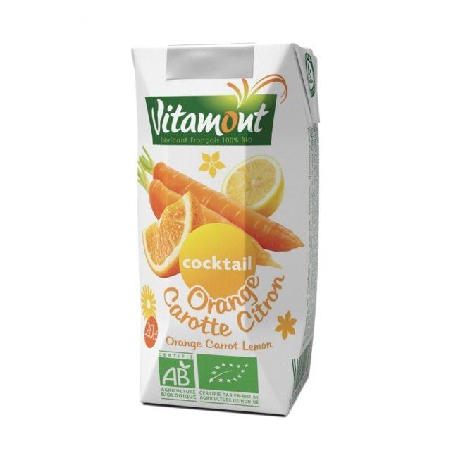 Vitamont Organic Orange Carrot Cocktail, 200ml