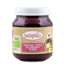@Babybio Puree Apple Blueberry