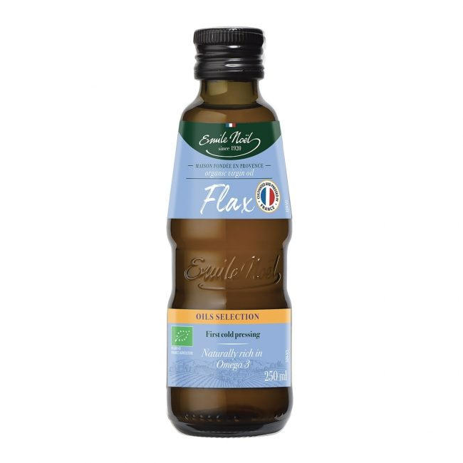 Emile Noel Organic Virgin Flaxseed Oil, 250ml