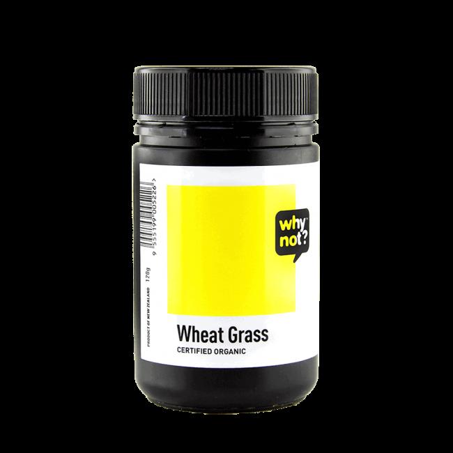 Why Not?® Organic Wheat Grass Powder, 100g