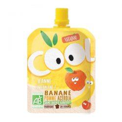 VITABIO Cool Fruit APPLE BANANA juice 90G