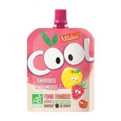 VITABIO Cool fruit APPLE RASPBERRY juice 90G
