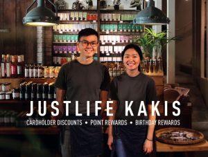 Justlife Kakis Banner