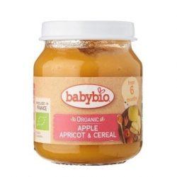 @Babybio Puree Apple Apricot Cereal