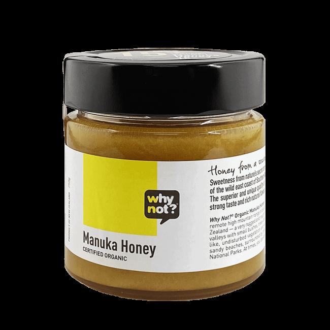 Why Not?® Organic Manuka Honey 15+, 250g