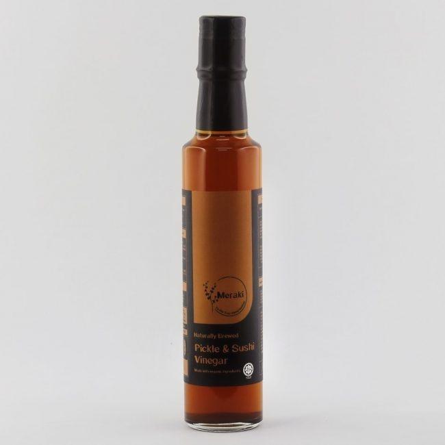 Meraki Organic Pickle & Sushi Brown Rice Vinegar, 250ml