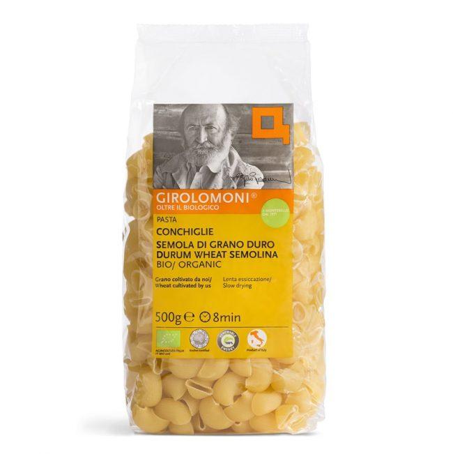 Girolomoni Organic Conchiglie pasta, 500g