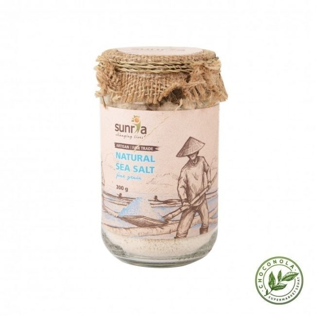 Sunria Natural Sea Salt (Fine), 300g