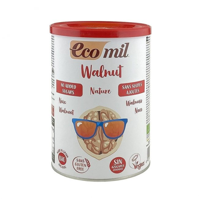 Ecomil Organic Walnut Drink Powder, 400g