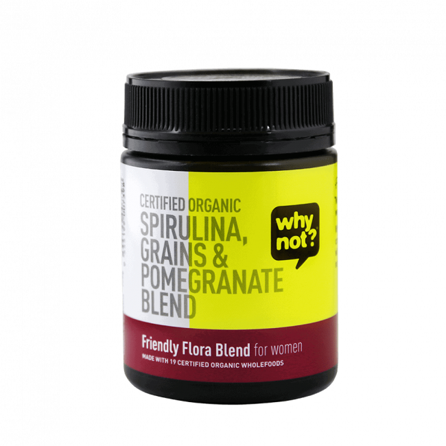 Why Not® Organic Friendly Flora Blend For Women, 150g
