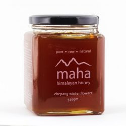 Container of Maha Chepang Winter Flowers Honey