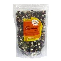 Packet of The Bites' organic 5 bean soup mix