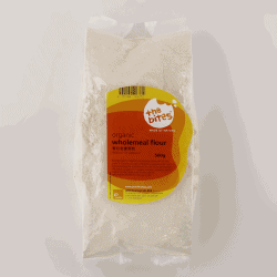 Packet of The Bites Organic Wholemeal Flour, 500g