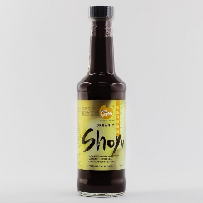 The Bites Organic Shoyu Soy Sauce, 350ml