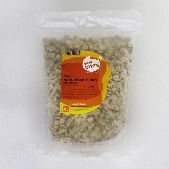 The Bites Organic Buckwheat Flakes, 250g
