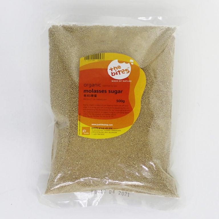 The Bites Organic Molasses Sugar, 500g