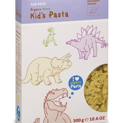 Packet of ALB-GOLD Organic Kid's Pasta Dino, 300g