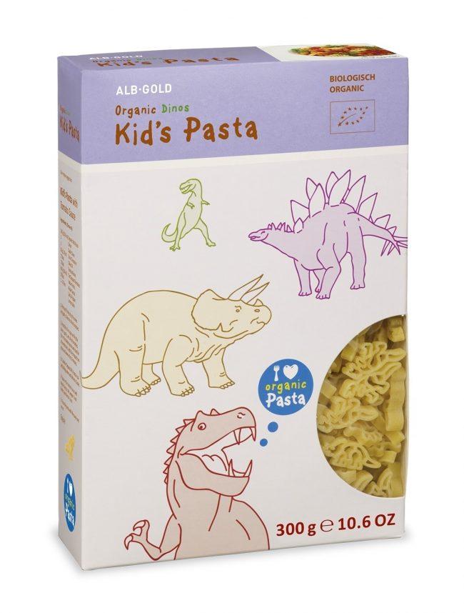 ALB-GOLD Organic Kid's Pasta Dino, 300g