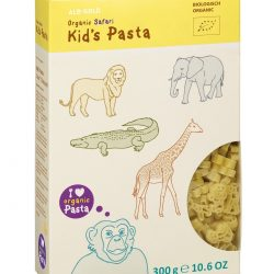 Packet of ALB-GOLD Organic Kid's Pasta Safari, 300g