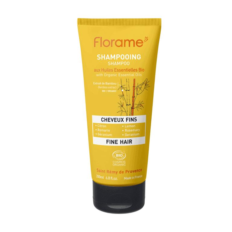 Florame Organic Fine Hair Shampoo, 200ml