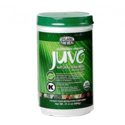 Jar of Juvo Organic Natural Raw Meal, 600g