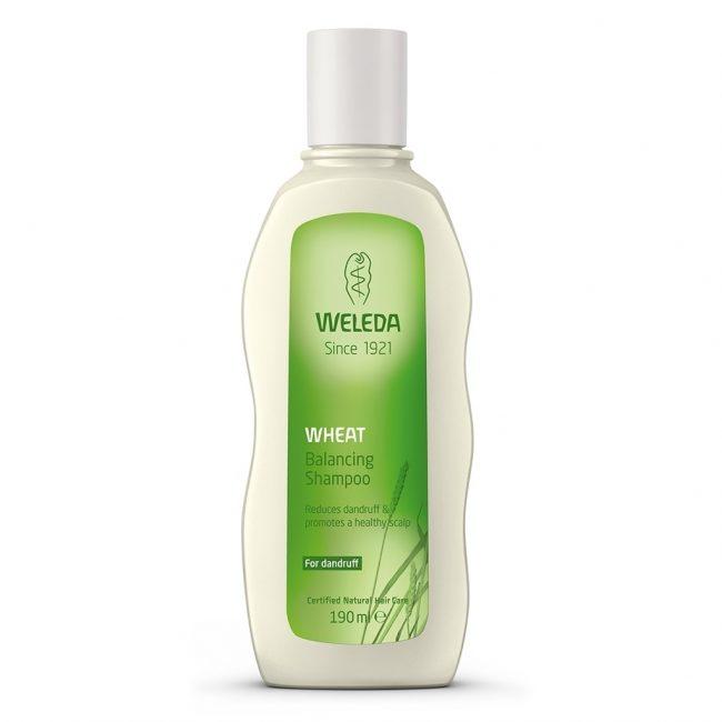 Weleda Organic Wheat Balancing Shampoo, 190ml