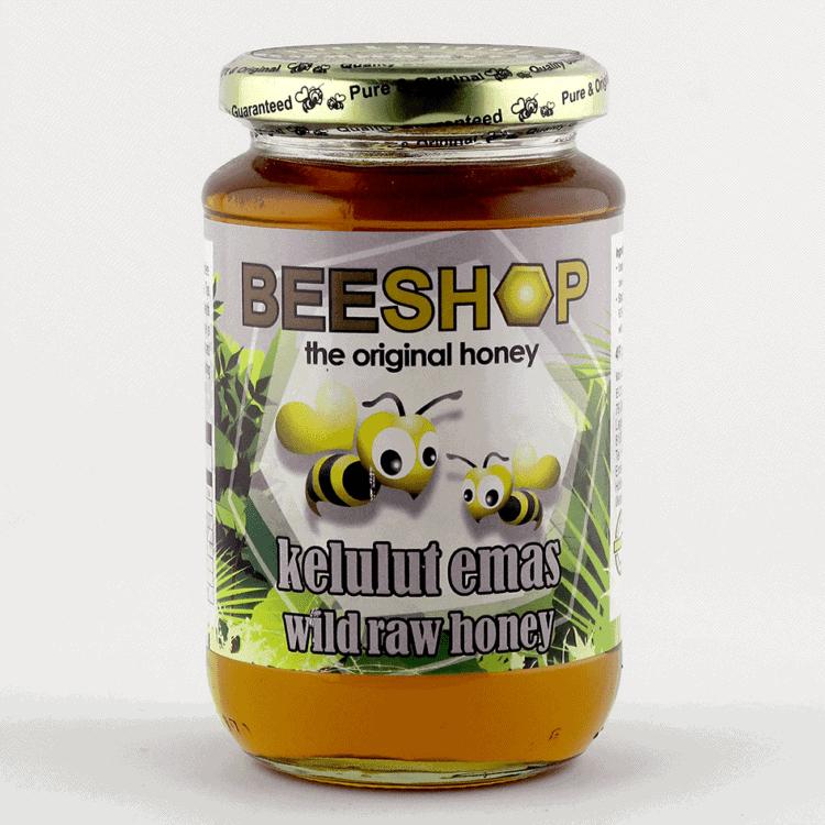 Ecobee Kelulut Raw Honey, 491g