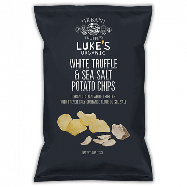 Luke's Organic Potato Chips - White Truffle, 113g