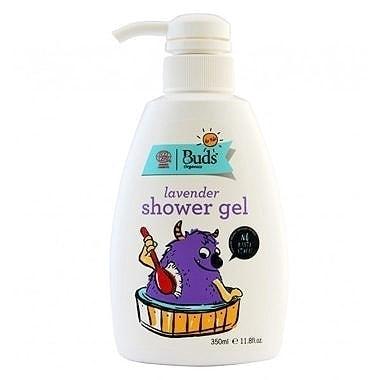 Buds for Kids Organic Lavender Shower Gel, 350ml