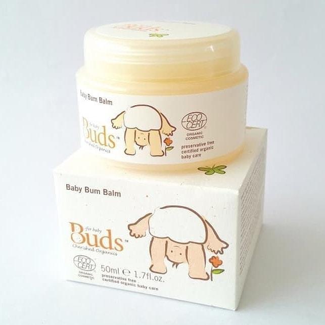 Buds Cherished Organics Baby Bum Balm, 50ml