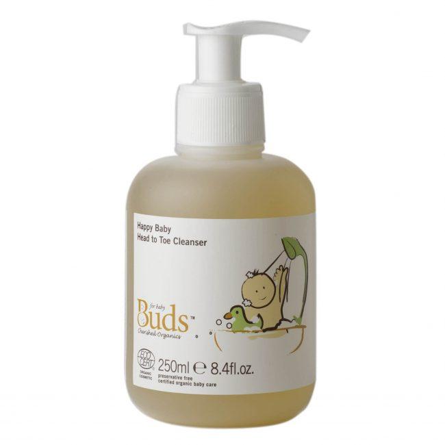 Buds Cherished Organics Happy Baby Head To Toe Cleanser, 250ml