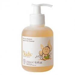 Bottle of Buds Cherished Organics - Precious Newborn Head To Toe Cleanser (250ml)