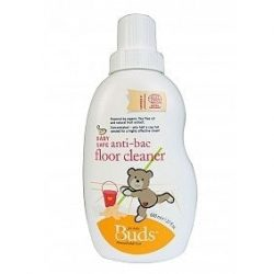Bottle of Buds Household Organics - Baby Safe Anti-bac Floor Cleaner (600ml)