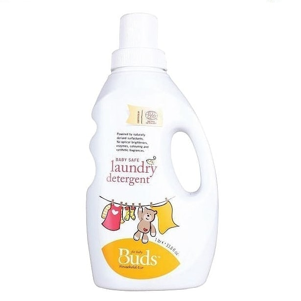 Buds Household Eco - Baby Safe Laundry Detergent, 1L