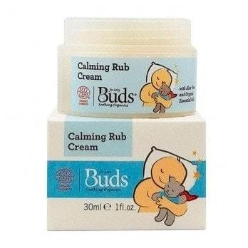 Buds Soothing Organics Calming Rub Cream, 30ml