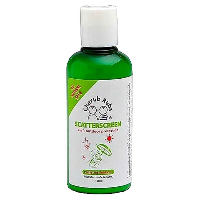 Cherub Rubs Organic Scatterscreen Sunscreen, 100ml