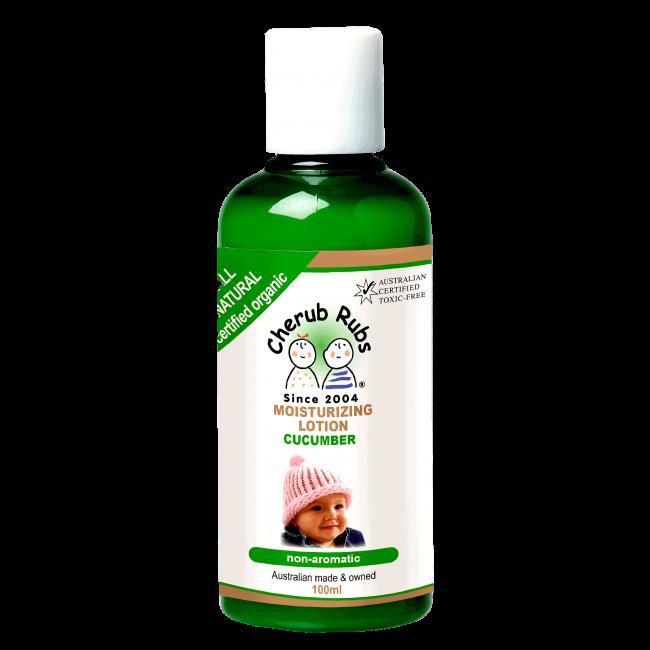 Cherub Rubs Organic Moist Lotion Cucumber, 100ml