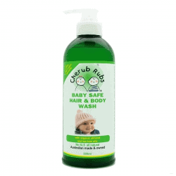 Bottle of Cherub Rubs - Hair & Body Wash (top to toe), 500ml