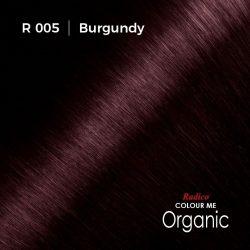 Hair colour preview for Radico Burgundy Hair Colour Powder (100g)