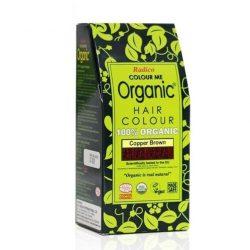 Box of Radico Copper Brown Hair Colour Powder (100g)