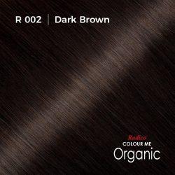 Hair colour preview for Radico Dark Brown Hair Colour Powder (100g)
