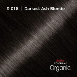 Hair colour preview for Radico Darkest Ash Blonde Hair Colour Powder (100g)