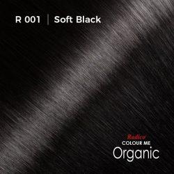 Hair colour preview for Radico Soft Black Hair Colour Powder (100g)