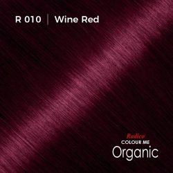 Hair colour preview for Radico Wine Red Hair Colour Powder (100g)