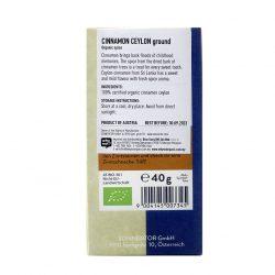 Sonnentor Cinnamon Ceylon Powder bk 40g