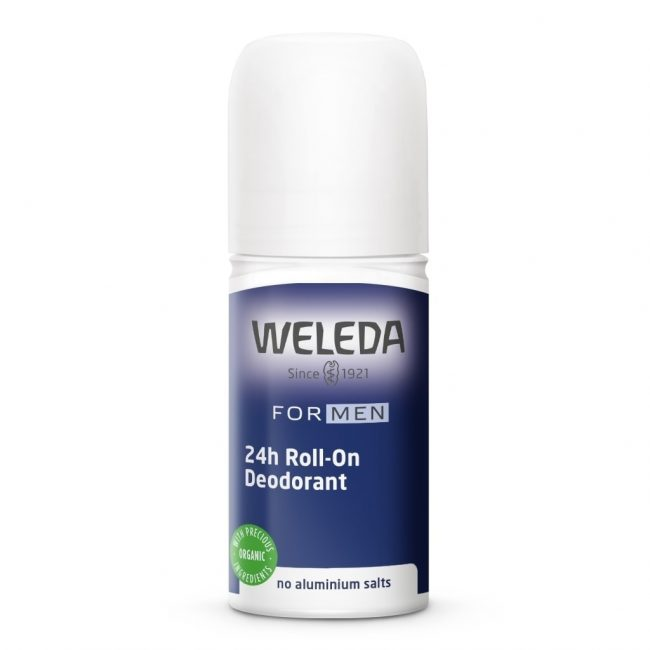 Weleda 24hr Roll-on Deodorant- Men, 50ml