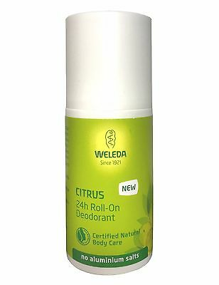 Weleda 24hr Roll-on Deodorant- Citrus, 50ml