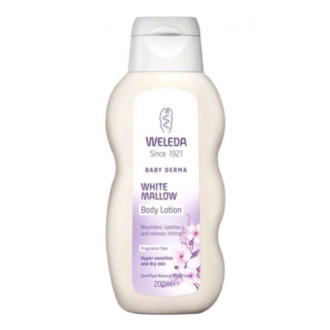 Weleda Organic White Mallow Body Lotion, 200ml