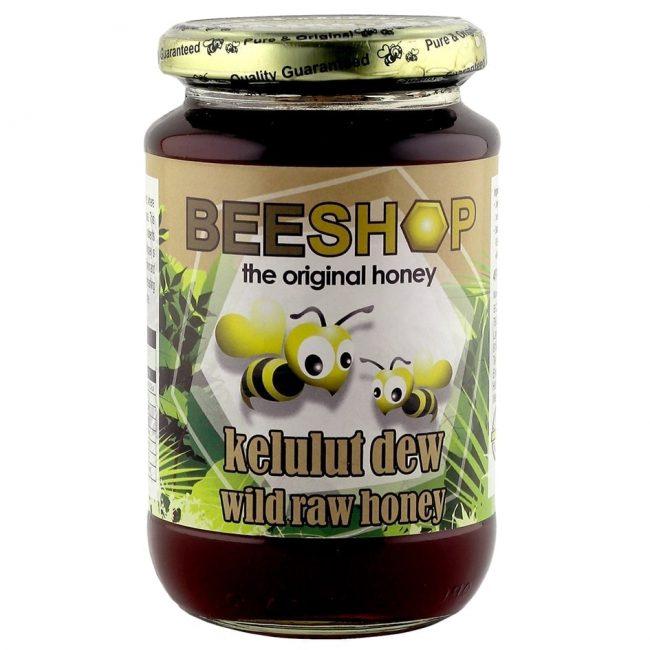 Beeshop Kelulut Dew Wild Raw Honey, 450g